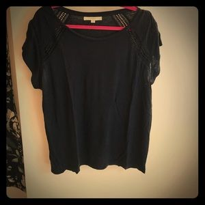 Loft Navy Blue T-Shirt